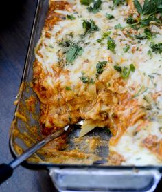 Buffalo Chicken Lasagna. Are You Also Getting Hungry? #Food