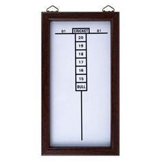 Dry Erase Dart Board Cricket Scoreboard - 15-32506
