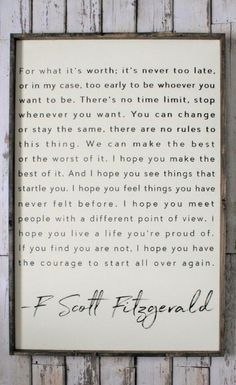 Scott Fitzgerald healthyhappysexywealthy: F. Scott Fitzgerald Healthy Happy Sexy Wealthy April 07 2019 at Great Quotes, Quotes To Live By, Me Quotes, Motivational Quotes, Inspirational Quotes, Quotes For Signs, Poetry Quotes, Urdu Poetry, Positive Quotes