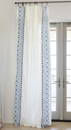 "Lacefield Barcelona drapery panel, 50""W"