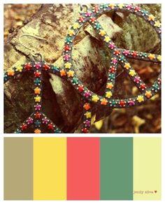 Retro Peace Color Palette