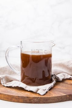 This au jus recipe is so rich and flavorful and can be made with or without drippings! Perfect alongside my easy prime rib recipe, for French dip sandwiches, or over beef and noodles. So much flavor, quick, and easy. #dinner #sauce #holidays #christmasrecipes #beef Red Wine Au Jus Recipe, Easy Au Jus Recipe, Rib Recipes, Sauce Recipes, Cooking Recipes, Aujus Sauce, French Dip Au Jus, Beef Au Jus, Beef Dripping