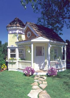 Looking for playplace inspiration? Start with our HGTV Gardens photo gallery of dream playhouses.