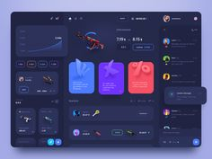 Best Website Dashboard UI Examples for Design Inspiration — Examples of website dashboards user interfaces for your inspiration. They are designed by top web designers and developers. Dashboard Ui, Dashboard Design, Social Media Dashboard, Application Ui Design, Interaktives Design, Design Page, Game Ui Design, Design Layout, Marketing Dashboard