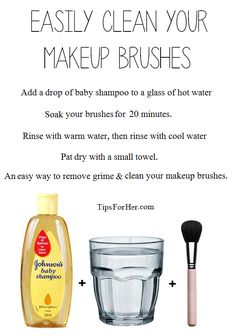 keep clean your brush