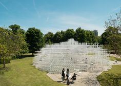 London's 2013 Serpentine Gallery Pavilion. How cool is this? #amazingarchitecture  Photo credit@ apartmenttherapy.com