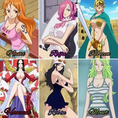If you could Date anyone of them. Who'd you pick & Why?!  #ONEPIECE