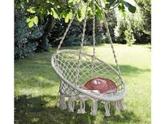 Fauteuil A Suspendre French Country House, Decoration, Natural Materials, Hanging Chair, Outdoor Activities, My Dream Home, Beautiful Gardens, Sweet Home, Projects To Try