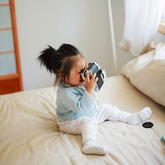 super cute with her cam. :D