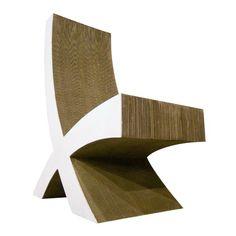 Cardboard chairs by Super Limão