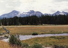 pictures of idaho mountains | Sawtooth Mountains at Stanley,Idaho
