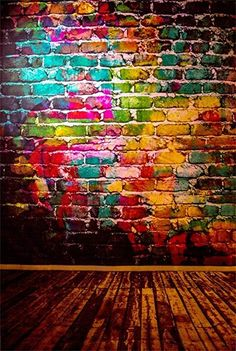 Brick Wall Background, Backdrops For Parties, Background For Photography, Photo Backgrounds, Portrait Photo, Fun To Be One, Photo Studio, Graffiti, Wall Art