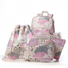 Adairs Kids Cloud Out and About Range, out and about range, kids backpack