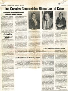 Los canales comerciales dijeron NO al color. Publicado el 4 de diciembre de 1979.