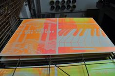 Look Out For More / Silkscreen Posters by tind , via Behance