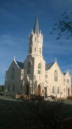 Vosburg Church Architecture, Architecture Design, Houses Of The Holy, Gothic Cathedral, Take Me To Church, Water Pollution, Church Building, Afrikaans, Worship