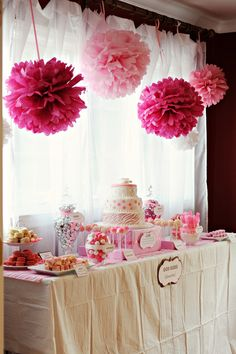 I want my baby shower to look like this : ) Hello? Anyone writing this stuff down?