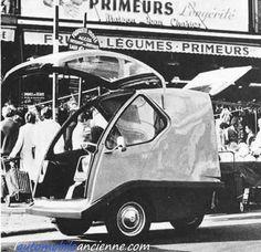 bmw isetta version camping avec petite caravane micro voiture voiturette pinterest bmw. Black Bedroom Furniture Sets. Home Design Ideas