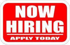 """Now Hiring Sign by @j_iglar, A simple """"Now Hiring"""" sign, on @openclipart"""