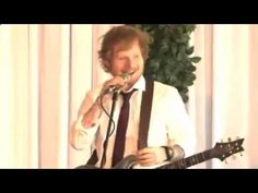 Ed Sheeran Is Surprise Quest At Australian Couple's Wedding   AMAZING VIDEO