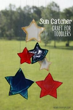 Sun Catcher Craft for Toddlers - Midwestern Moms