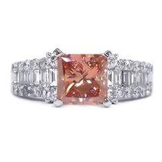 2.36 Karat Pink Diamant Ring aus 750er Weißgold. Ein Diamantring aus der Kollektion Pink von www.pearlgem.de