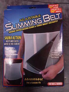 North American Healthcare JB5702 Adjustable Slimming Belt $39 Value!