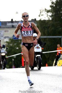 Paula Radcliffe (women's marathon world record holder, London is for life ; Running To Stand Still, Just Run, Long Jump, High Jump, Running Tips, Trail Running, Road Running, Triathlon, Paula Radcliffe