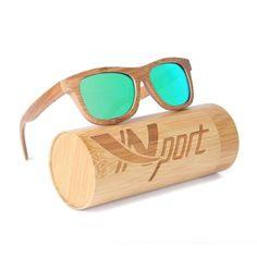 a2a1516cad Ynport Mens-Womens Polarized Full Charcoal Bamboo Frame Classic Wooden  Coated Sunglasses