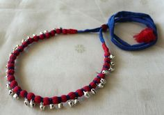 Upcycled Handloom Cotton Necklace – Desically Ethnic