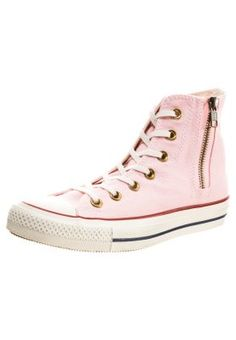 ALL STAR HI SIDE ZIP CANVAS -  Høye joggesko - pink Really want them.. wrong size :-/
