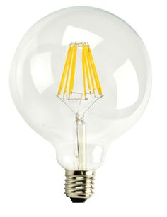 Product Description Item #55034KODAK LED Filament Lamps provide a 360 degree beam angle. Delivering incandescent-like sparkling light effects, LED Filament bulbs are ideal for general and decorative lighting in the hospitality industry, as well as home environments. The lamp employs Linear LED filaments.This product dims best withLutron Diva Electronic Dimmer Part No. DVELV-300P.  Features  30,000 hrs rated life Dimmable 800 lumens 2700K 360 degree lighting 2700K warm white No UV / No...