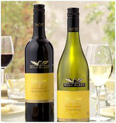 - Wolf Blass from South Australia's Barossa Valley wine region -cab Sauvignon is the BEST!
