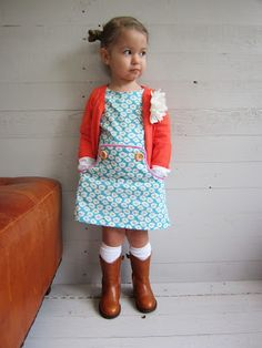"""jurkje love this """"little dress"""" with cowboy boots (plus the Dutch are crazy about cowboys...)"""