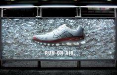 Creatividad en los pies. Nike
