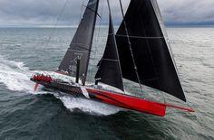 """Naval Architecture — spiritofsailing: 100′ Super Maxi """"Comanche"""""""