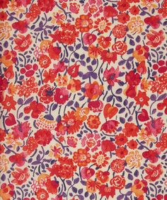 Liberty of London Printed Tana Lawn Cotton Fabric Kaylie Sunshine 40cm x 46cm
