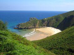 Strand in Asturien