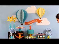 Como montar um painel para festa com o balão 3D