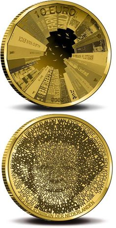 Gold 10 euro coins - Netherlands - COIN SERIES - Collector Coin Database