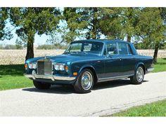 1979 Rolls Royce Silver Shadow II in two-tone Peacock Blue