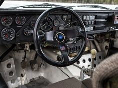 Audi Sport quattro - FIA Group B Rally Car - 1985 - 1986 - racing wheel / volant Audi Sport, Sport Cars, Audi Quattro, Auto Volkswagen, Automobile, Car Gauges, Classic Race Cars, Race Engines, Vintage Racing