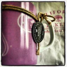 by @bb_amelie - New Mug! Thank u Sista! @isabellabussi #mug #america #californiabakerydesign