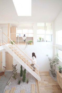 Brilliant feel of the outdoors, inside - at the Kofunaki House in Shiga, Japan (ALTS Design Office)