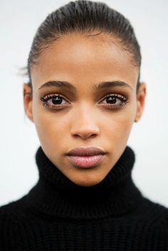 thefashionbubble:Aya Jones backstage at No. 21 Fall/Winter 2015.
