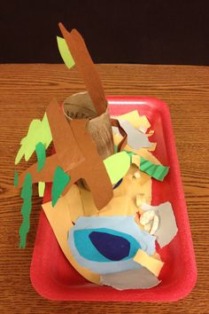 "Mrs. Partyka's Art Students' 1st Grade: IB Unit- Exploring Our Earth Rock and Soil Unit  Students created ""Zen"" Rock garden sculptures"