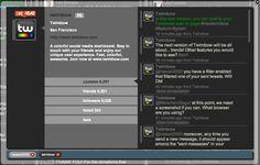Profile browser - Tweets
