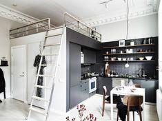 Stijlvol wonen in een compacte studio met Scandinavische touch - Roomed