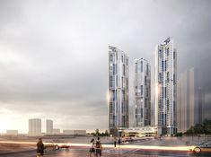 Futuristic Home, Futuristic Architecture, Facade Architecture, Residential Architecture, Aircraft Design, Urban Planning, Texture Design, Skyscraper, Exterior