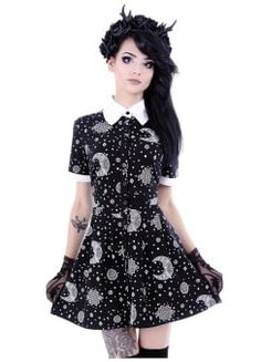 Henna Babydoll Dress